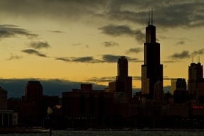 chicago+at+dawn