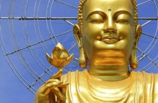 11621426-big-golden-buddha-with-lotus-flower-at-da-lat-vietnam